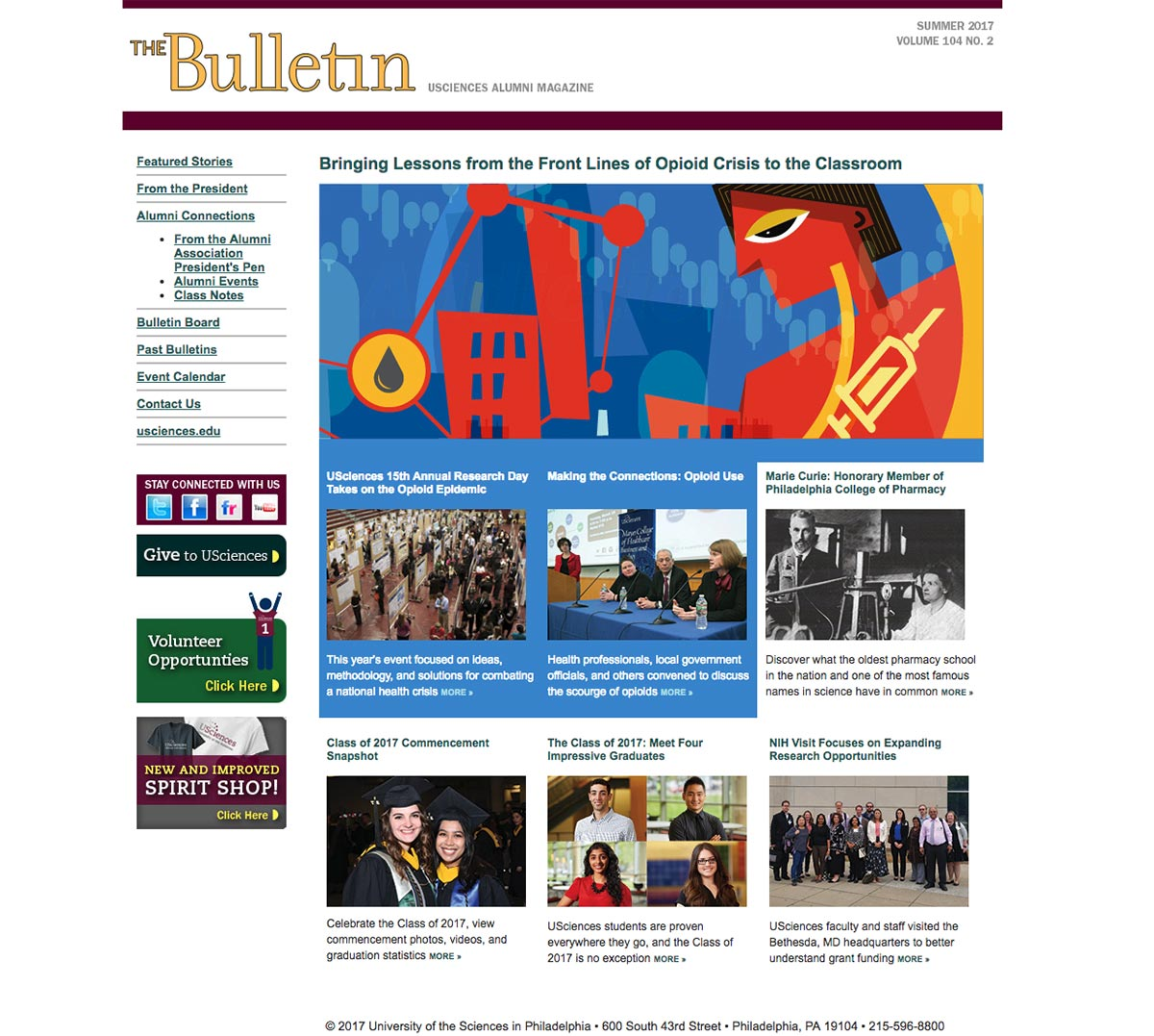 The Bulletin Online previous version on Typepad.com