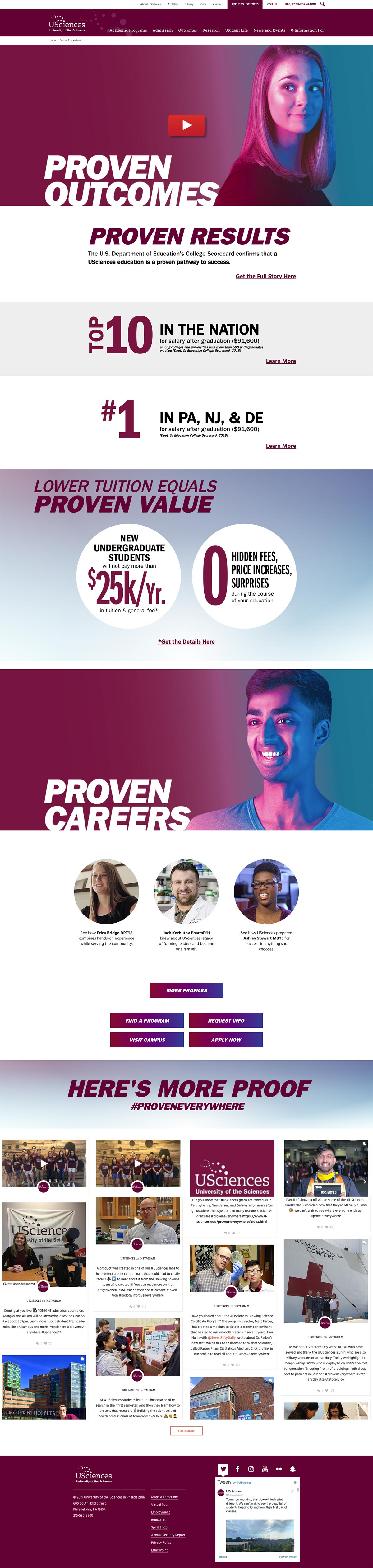 Proven Everywhere landing page 2018