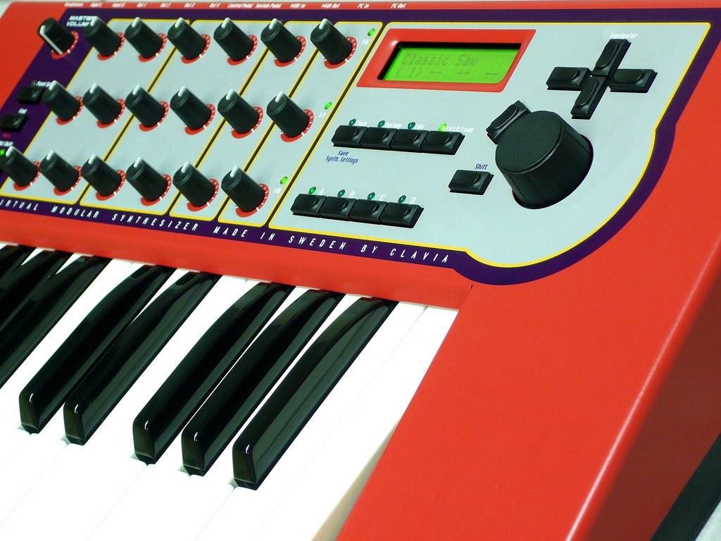 Nord Modular G1 Keyboard front panel