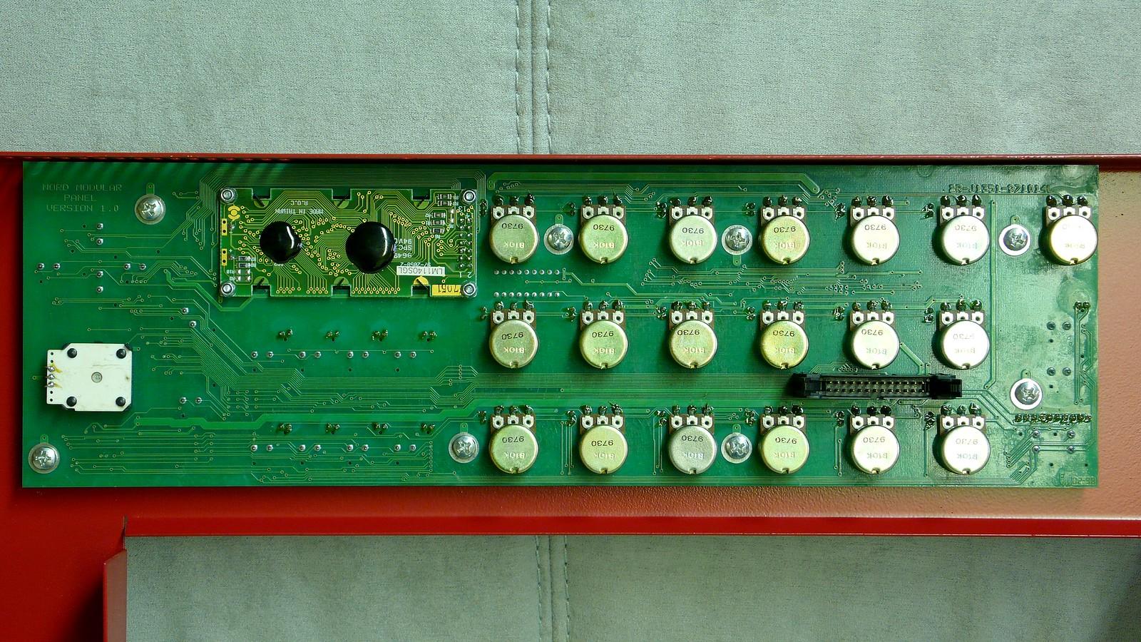 Nord Modular G1 Keyboard control board